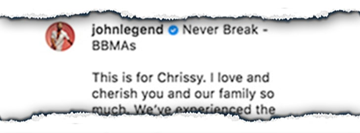 Chrissy Teigen Breaks Silence After Son's Death
