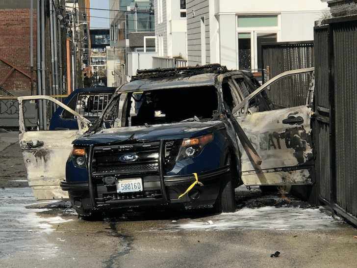 Seattle Police Arrest Man Who Allegedly Set Fire To Cop Car with Officer Inside