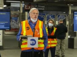 Head of U.S.' largest transit system on COVID-19 pandemic's impact