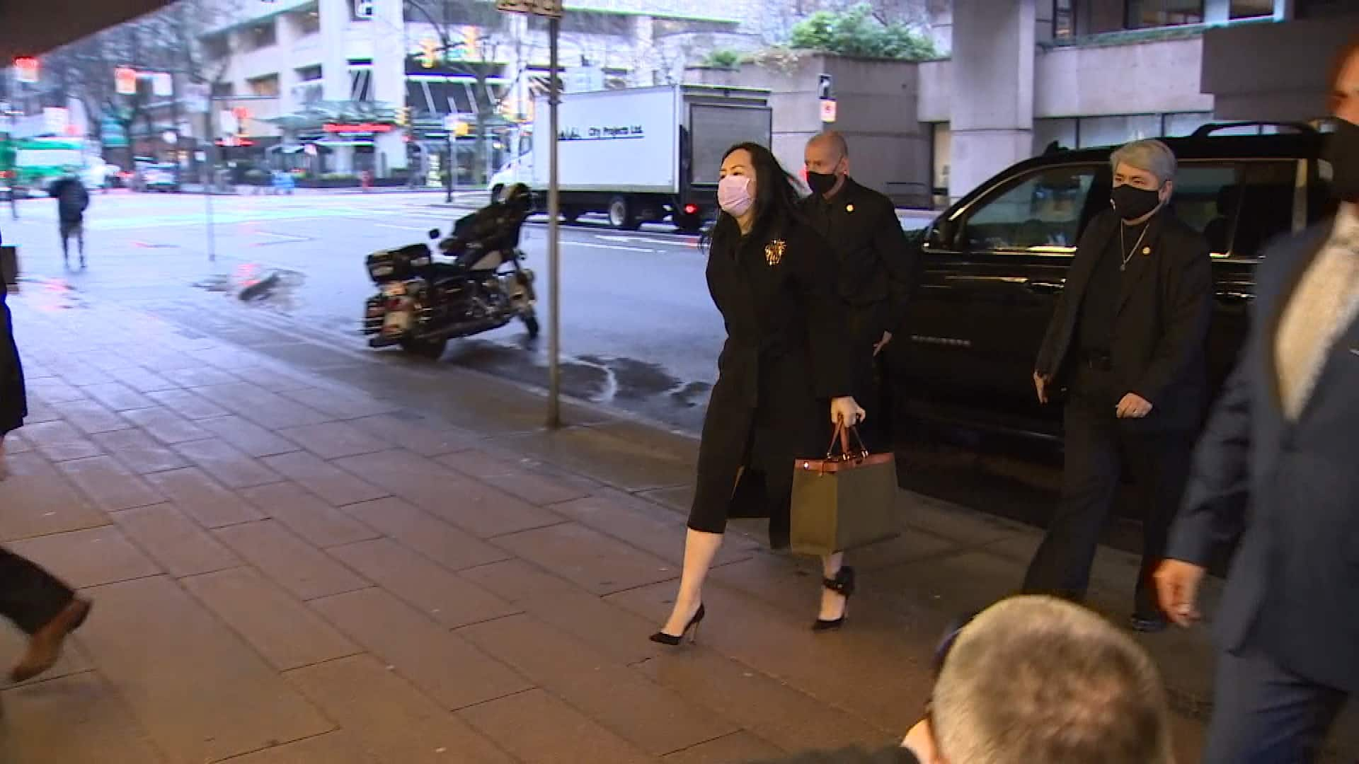 Meng Wanzhou claims security detail placing her at risk of contracting COVID-19
