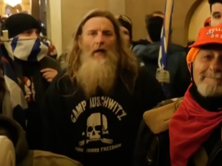 Capitol Rioter Wearing 'Camp Auschwitz' Hoodie Arrested in Virginia