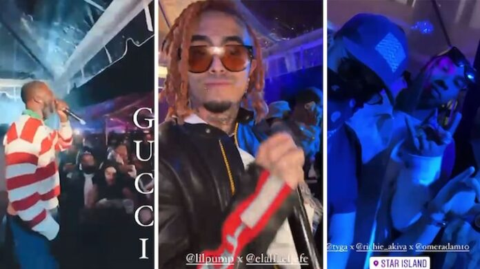 Gucci Mane, Tyga and Other Celebs Hit Up Huge Maskless Miami Party