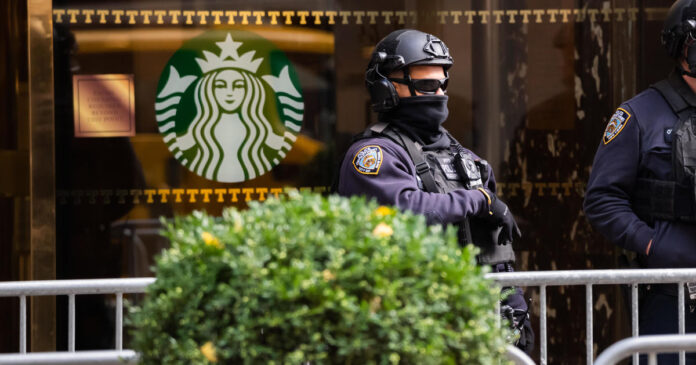 Starbucks shut some NYC stores ahead of Inauguration Day