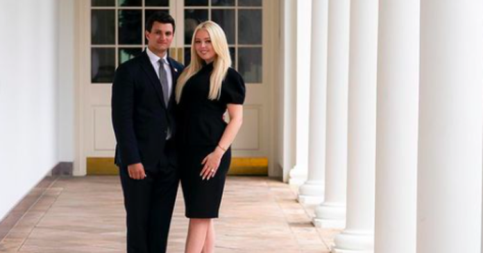 Tiffany Trump reveals engagement on father's last full day as president