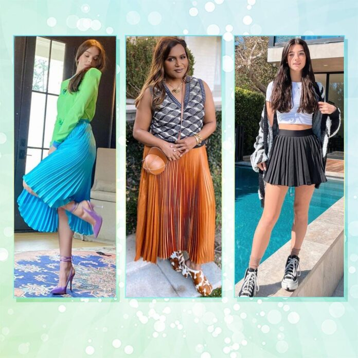 10 Pleated Skirts You'll Want to Wear All Year Long