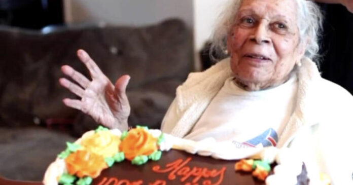 105-year-old beats COVID-19 and shares her secret to longevity