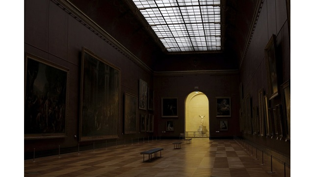 With no visitors at Louvre longoverdue refurbishments finally kick off in the otherwise overcrowded museum