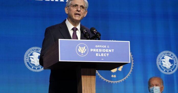 Attorney general nominee Merrick Garland to testify before Congress