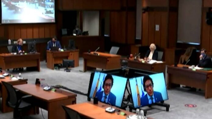 Click to play video 'Gen. Vance allegations: House committee questions witness on defence minister's actions in 2018'