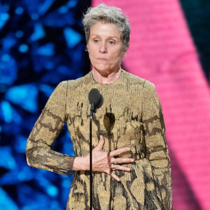 Frances McDormand Shares Why She Turned Down Interviews for 10 Years