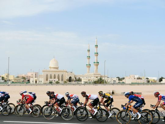 In pictures: UAE Tour Stage 1 from Al Dhafra Castle to Al Mirfa, Abu Dhabi