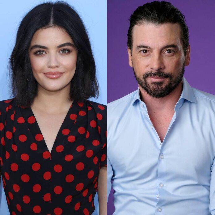 Lucy Hale Seen Kissing Riverdale's Skeet Ulrich on Lunch Outing