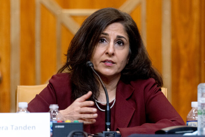 Neera Tanden is President Joe Biden's nominee for Director of the Office of Management and Budget.