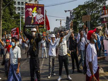 Myanmar's protests against 1 February coup are growing, defying military threats and snipers