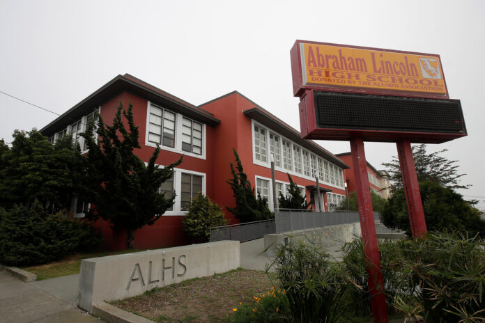 Abraham Lincoln High School in San Francisco was set to have its name changed.