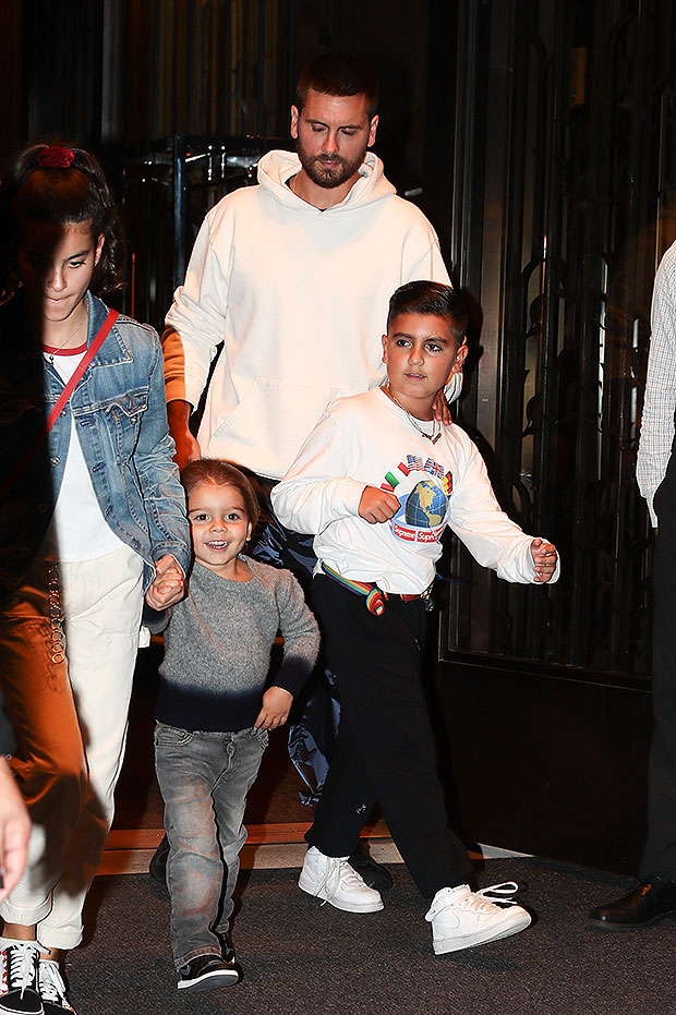 Scott Disick, Kids