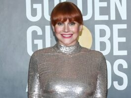Bryce Dallas Howard Got Her Golden Globes Dress on Consignment