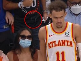 Trae Young Spit On By NY Knicks Fan, Team Bans Idiot Indefinitely, Cops Involved