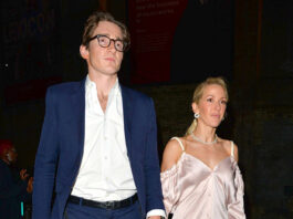 Welcomes First Child With Caspar Jopling – Hollywood Life