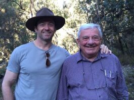 Hugh Jackman Mourns His Father's Death With Touching Tribute