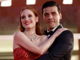 Jessica Chastain Reacts to Internet Frenzy Over Oscar Isaac Photos