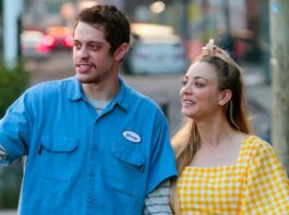 Kaley Cuoco Returns to Set With Pete Davidson After Karl Cook Breakup