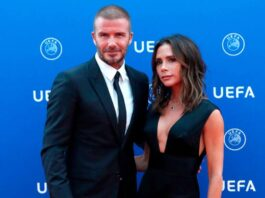 Victoria Beckham Proudly Shows Off David's Bare Butt in Cheeky Photo